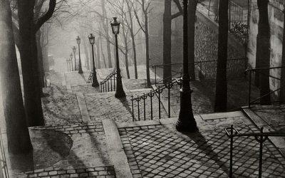 Brassaï. Les escaliers de Montmartre. 1937