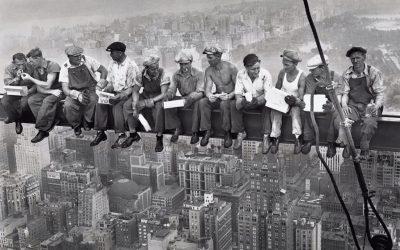 Anonyme. Déjeuner sur un gratte-ciel. New-York. 1932