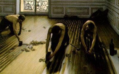Caillebotte. Les raboteurs de parquets. 1875