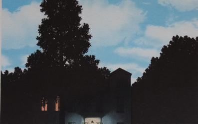 Magritte. L'empire des lumières. 1954