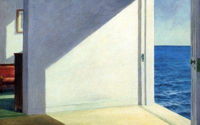 Hopper. Chambres au bord de la mer. 1951