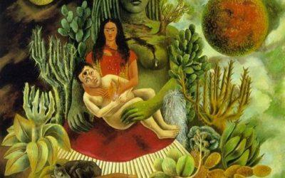 Kahlo. L'étreinte amoureuse de l'univers. 1949