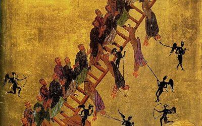 Monastère Ste Catherine. Mont Sinaï. L'échelle de l'Ascension divine. XIIème siècle