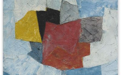 Poliakoff. Composition abstraite. 1956