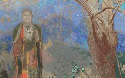 Redon. Le Bouddha. 1910