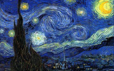 Van Gogh. La nuit étoilée. 1888