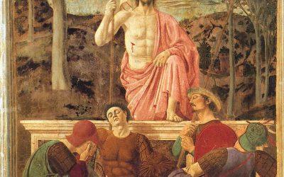 Piero della Francesca. La résurrection du Christ. 1463