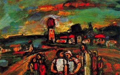 Rouault. Crépuscule. 1937