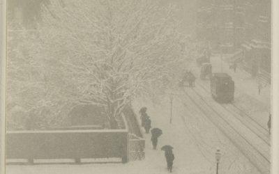Stieglitz. De ma fenêtre. New-York. 1900