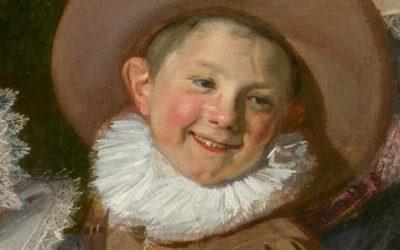 Hals. Famille Van Campen (fragment). Vers 1623-1625