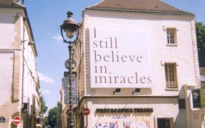Whitman. Je crois encore au miracle