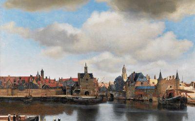 Vermeer. Vue de Delft. 1660