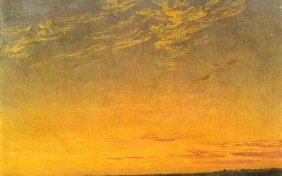 Friedrich. Soirée. 1824
