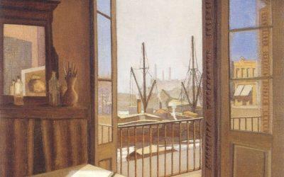 Lacàmera. Studio du peintre. 1938
