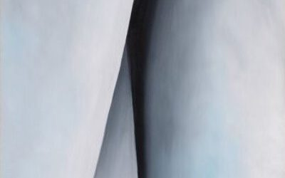 O'Keeffe. Abstraction white. 1927